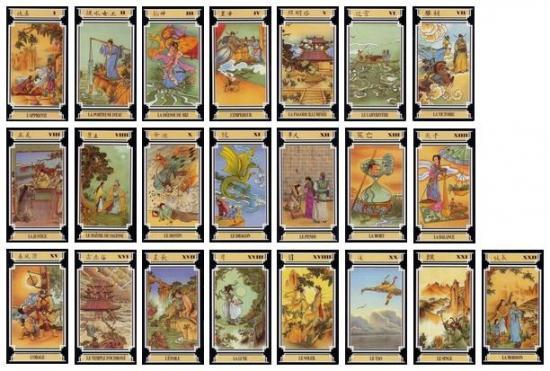 Tarot chinois lames 1