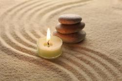 Zen galets sable